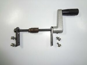 New Hermes Engravograph Handle Worm Gear For Tx Type Workholding Vise Jaw