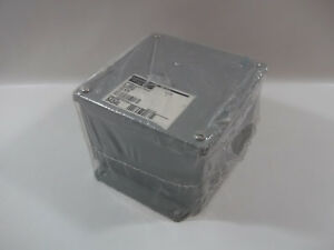 New Hoffman A 606sc Metal Enclosure Junction Box Steel Gray 54340 6 X 6 X 4