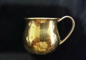 Vintage Lunt Sterling Silver Baby Cup