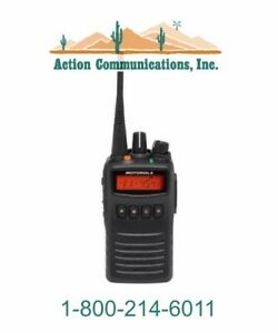 New Motorola Vx 454 d0 5 Vhf 136 174 Mhz 5 Watt 512 Channel Two Way Radio