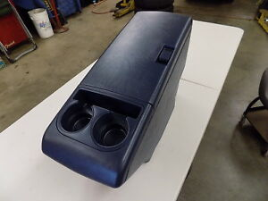 1988 1994 Chevrolet Extended Cab Truck Suburban Tahoe Center Console Blue