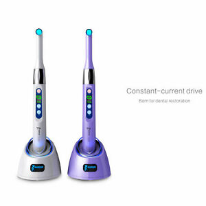 Woodpecker Original Dental Wireless I Led 1 Second Curing Light Lamp 2300 Mw cm2