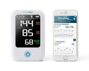 Welch Allyn Home 1700 Series Blood Pressure Monitor And Upper Arm Cuff Hbp100sbp
