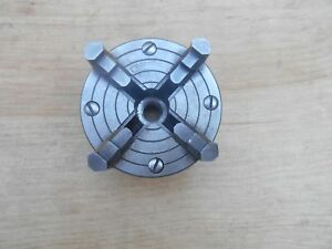Craftsman Atlas Dunlop 109 Metal Lathe Parts Original 4 Jaw Chuck 3 1 2 20tpi