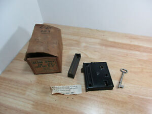 Antique Keil Door Lock And Key Set With Hardware New Old Stock