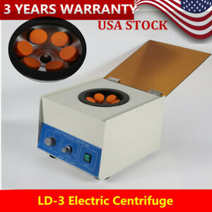 4000rpm Desktop Electric Centrifuge Laboratory Medical Practice 6 50ml Low Noice