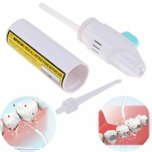 5pcoral Irrigator Dental Water Jet Power Floss Air Powered Flosser Teeth Cleaner