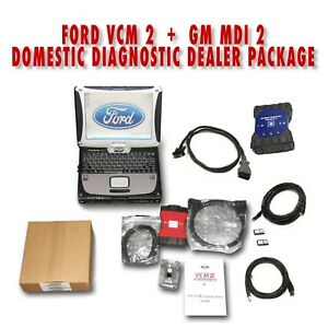 Ford Vcm 2 Gm Mdi 2 Toughbook Diagnostic Dealer Package Domestic Combo Kit