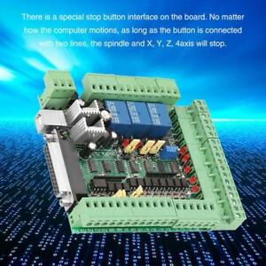 Mach3v3 0 l Cnc Engraving Machine Breakout Board 4 5 6axis Motion Controller Inm