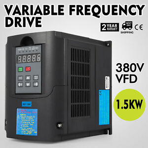 2hp 1 5kw 380v Variable Frequency Drive Vfd Calculous Pid Single Phase 7a Great