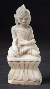 19th Century Antique Marble Buddha Statue From Burma Antique Buddha Statues