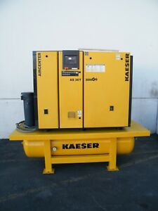 2013 Kaeser As 30t 30 Hp Rotary Screw Air Compressor Dryer Ingersoll Rand Quincy