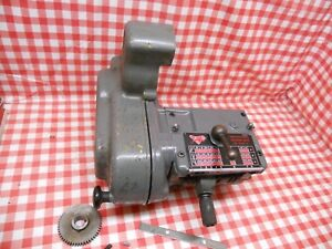 Myford Ml7 Super 7 Lathe Quick Change Gearbox Complete With All Fixings