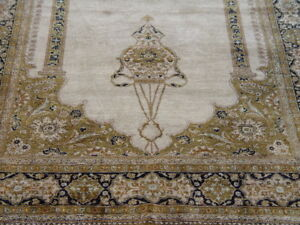 Quality 100 Silk Prayer Qu M Hand Knotted Oriental Rug 3 6 X 5 9