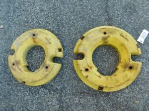 John Deere 3010 3020 Utility Tractor Rear Wheel Weights R32015 03137