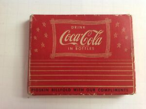 Coca Cola Vintage Billfold In Original Box  1940's