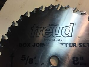 Freud Box Joint Blade 3 8 1 4