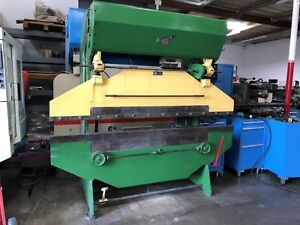 Diacro 18 96 Hydra Mechanical Press Brake 25 Ton X 8 Foot