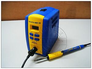 Used Good Hakko Fx 951 Soldering Station With 1pc Handle Pen 120v 75w