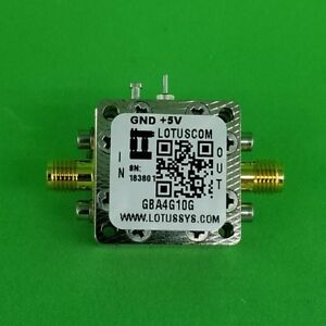 Gain Block Amplifier 3 5db Nf 4g To 10ghz 15db Gain 13dbm P1db Sma