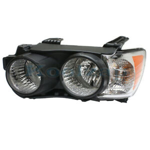 12 16 Chevy Sonic Front Headlight Headlamp Head Light Lamp Black Trim Left Side
