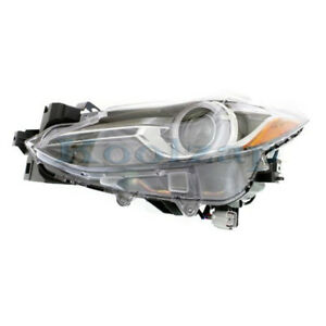14 18 Mazda3 Front Headlight Headlamp Hid Head Lamp W o Auto Leveling Right Side