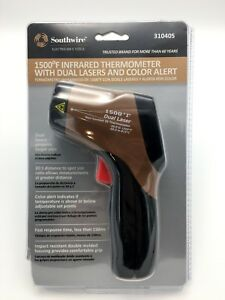 Southwire 31040s 1500 f Infrared Thermometer 20 1 Distance Dual Lasers