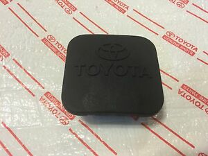 New Toyota Tow Hitch Cover Rubber Plug Runner Sequoia Landcruiser Highlander