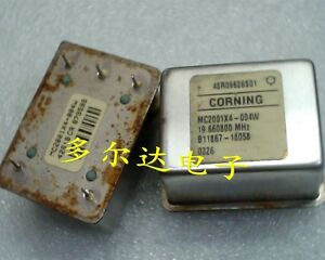 1pc Used Good Corning Mc2001x4 004w 19 6608mhz Ocxo Crystal Oscillator e f7