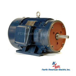 1 5 Hp 143jm Electric Motor Close Coupled Pump 3600 Rpm 3 Phase Irrigation