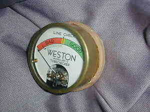 New Old Stock Weston 685 2 Tube Tester Meter For Diy Western Electric Amplifier
