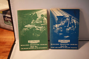 Kearney Trecker Milling Practice Series Book One And Book Two Original 1957