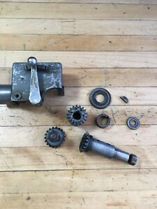 Atlas Craftsman 10 Lathe Reverse Gear Case 9 27 And Misc Gears For Parts