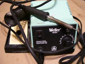 Weller Wes51 Solder Station