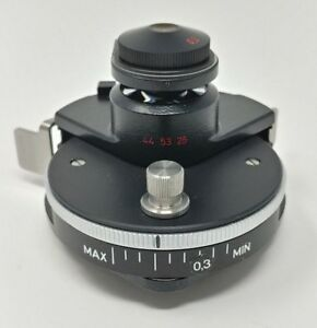 Zeiss Microscope Swing Out Condenser 0 9 Achromatic Aplanatic Pol