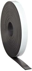 Master Magnetics Magnet Tape One Side Adhesive Magnetic Tape 1 16 Thick X 1