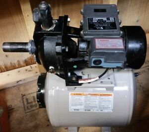 Water Ace Jet Pump And Pressure Tank Booster Pump