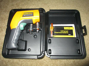 New Fluke 566 Dual Infrared Thermometer 40 1200 F Range Contact non contac