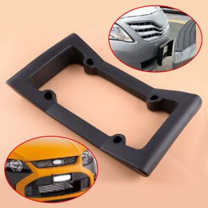 For All Car Auto Front Bumper Guard Eva License Plate Frame Tag Cover Protector