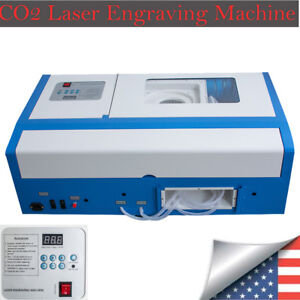 2018 New Usa pro co2 Laser Engraving Cutting Machine Engraver Cutter Usb Port