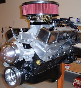Chevy 350 430 Horse Complete Crate Engine pro built 327 383 400 Hyd Roller Cam