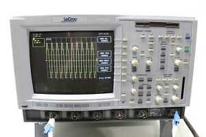 Lecroy Dda 120 Disk Drive Analyzer Oscilloscope 4 Ch 1 Ghz Loaded W Key Aa4