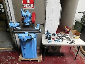 K o lee Tool Cutter Grinder B803 Chipbreaker Very Well Tooled lots Of Extras