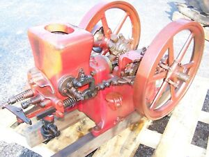 Old 2hp Associated Chore Boy Hit Miss Gas Engine Steam Tractor Ignitor Motor Wow