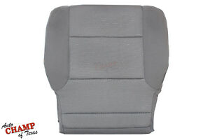 2015 2016 Chevy Silverado 1500 Work Truck Wt Driver Bottom Cloth Seat Cover Gray