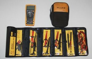 Fluke 179 True Rms Multimeter Soft Case Master Accessory Set Tlk 225