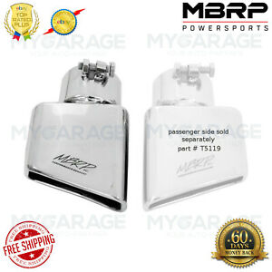 Mbrp Tip 41 2 x 2 Rectangle Angled Cut 3 O d Inlet Driver Side T5119