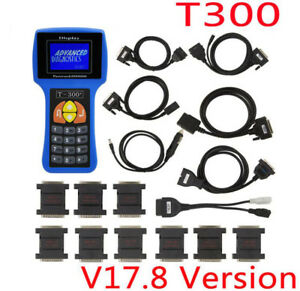 T300 V17 8 Auto Car Key Maker Programmer Transponder Diagnostic Scanner Key Prog
