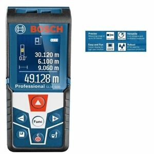 New Bosch Glm 500 Laser Distance Measurer Meter Ranger Finder 165 Feet 50 Meters