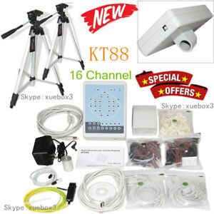 Contec Kt88 16 channel Digital Eeg Machine Mapping System Pc Software tripod